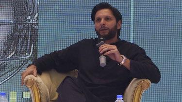 Shahid Afridi.