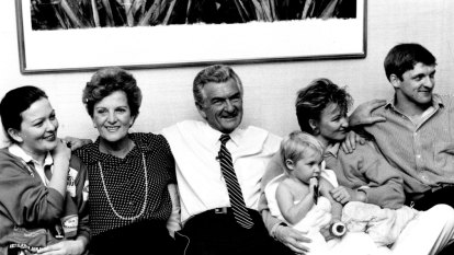 Bob Hawke: father who liked a flirt and a flutter