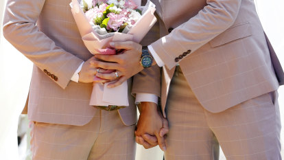 Gay marriage wasn't quite settled for the faithful - but at last, there's blessed relief