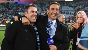 Concerns: Andrew Johns is dealing with an ongoing health issue.