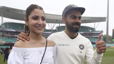 Virat Kohli is returning home after the first Test to be with his wife, Anushka Sharma, who is due to give birth to their first child in January.