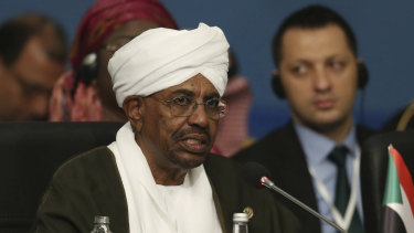 Ousted: Omar al-Bashir.