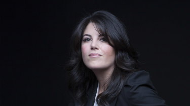 "Monica Lewinsky presented ""A Compassionate Internet"" at the UNSW Centre for Ideas event on Saturday night."