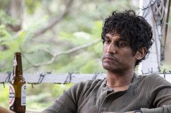 Rudi Dharmalingam plays an empathetic but unravelling nurse in a psychiatric ward in the ABC drama Wakefield.