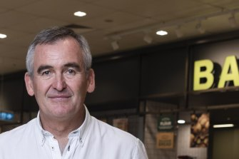 Woolworth's chief executive Brad Banducci.