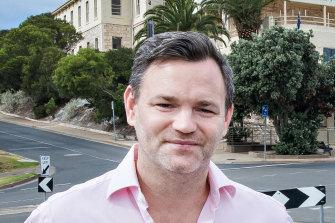 Sorrento hotelier Julian Gerner.