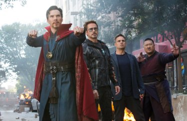 We're getting upset about the Avengers film on Anzac Day ... really?