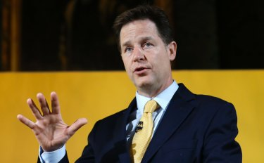 Nick Clegg, Facebook's head of global policy and communications.