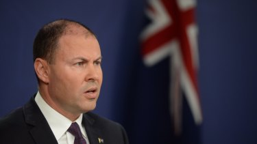 Treasurer Josh Frydenberg on Tuesday.