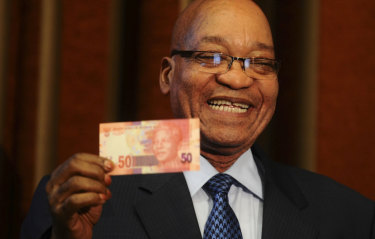 Former South African president Jacob Zuma has been blamed for allowing corruption to flourish.