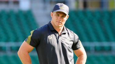 Out: Michael Hooper has been ruled out of Australia's final pool match on Friday against Georgia.
