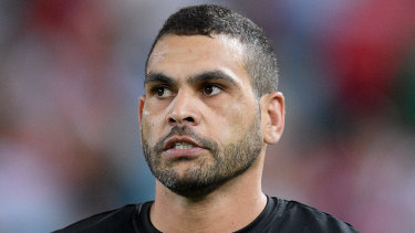 Greg Inglis was charged by police not long after being named captain by Australian coach Mal Meninga.