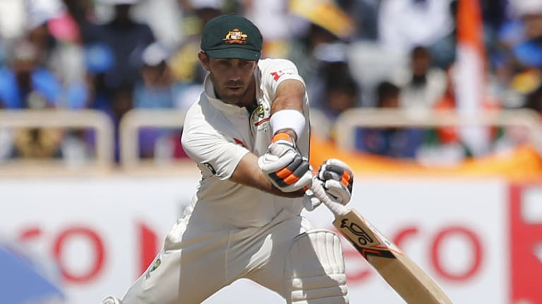 Hell-bent: Glenn Maxwell is fiercely determined to add to his seven Test appearances.