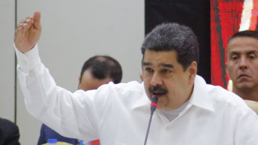 Venezuela's President Nicolas Maduro, pictured in Cuba on December 14, is about to begin his second term.