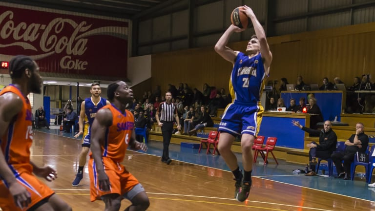 Long shot: The Canberra Gunners have a new basketball home.