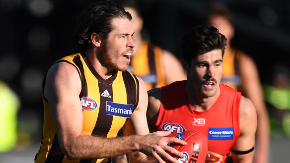 Hawthorn keep eight in sight, but Burgoyne hamstring scare