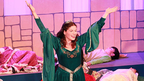 Quirky, fun musical variation on a classic fairy tale