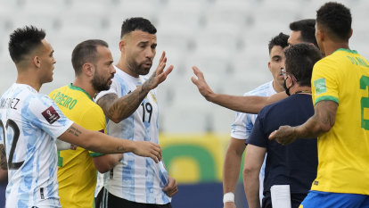 Brazil's clash with Argentina stopped after players accused of COVID rules breach