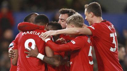 Man United seal EPL clean sweep of Chelsea