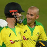 Consolation as Australia win final T20 against England by five wickets