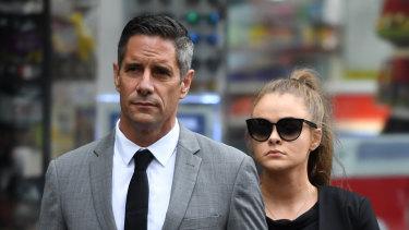 Roman Quaedvlieg's girlfriend, Sarah Rogers, has pleaded guilty to misleading a corruption probe against the pair.