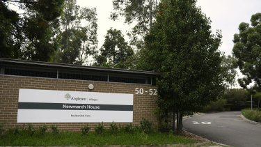The Anglicare Newmarch House aged care facility.