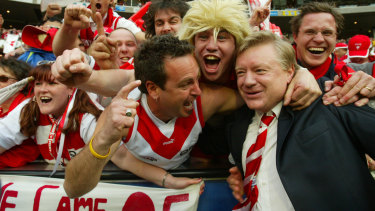 Changing game: Former Swans chairman Richard Colless headed the selection panel for the Greatest NSW AFL Team, to be unveiled on Thursday.