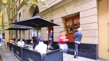 535 Flinders Lane, Melbourne.