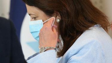 Queensland Premier Annastacia Palaszczuk says masks must be worn in indoor public places.