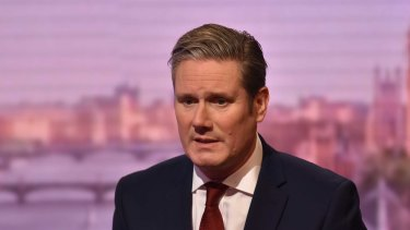 Shadow Brexit Secretary Keir Starmer, a possible replacement for Jeremy Corbyn.