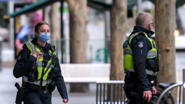 Police are able to issue fines of $200 to those not wearing face coverings for one of the approved reasons.