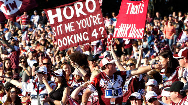 Finals fling: Lottoland is nearing the green light to host a week one NRL final if needed.