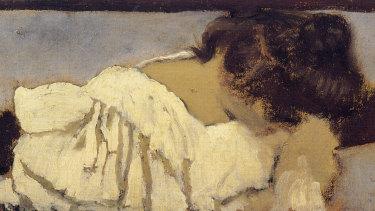 The Nape of Misia's Neck, 1898-9 by Edouard Vuillard.