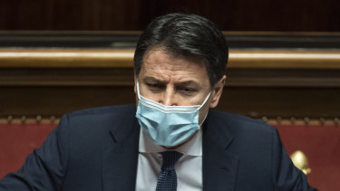 Giuseppe Conte, Italy's Prime Minister, who plans to resign.