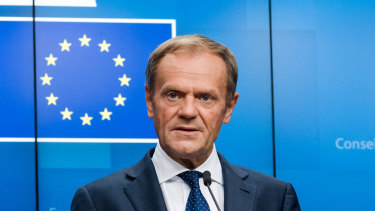 Donald Tusk, president of the European Union.