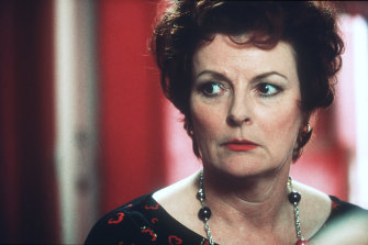 Blethyn as Mari Hoff in Little Voice, her second Oscar-nominated role.