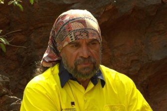 PKKP director Burchell Hayes in the Pilbara.