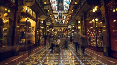 The Strand Arcade in Sydney. Analysts are still bearish on the retail sector.