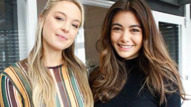 Jessica Sepel and Francesca Hun.