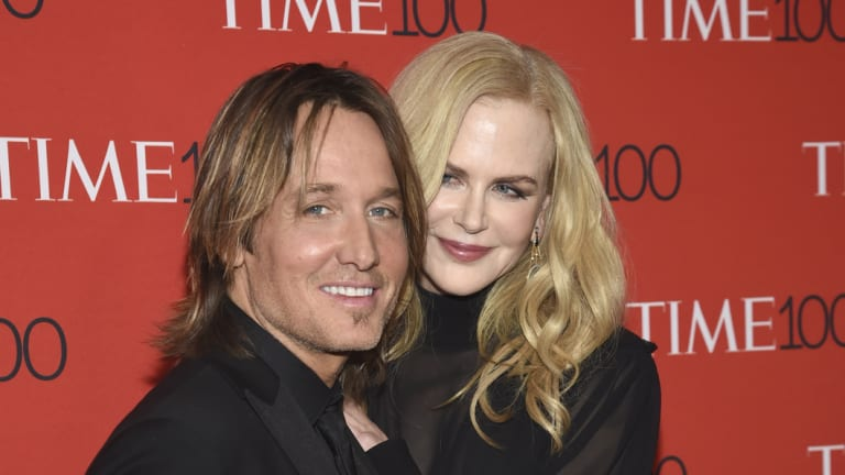 Keith Urban and Nicole Kidman at the Time 100 Gala in April.