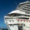 Massive cruise liners collide off the coast of Mexico