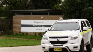 Three residents of Anglicare's Newmarch House have now died from coronavirus.