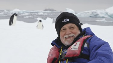 David Day in Antarctica.