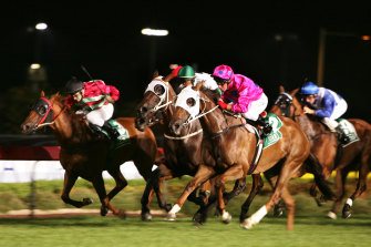 Racing is back under lights at Canterbury with an seven-race program.