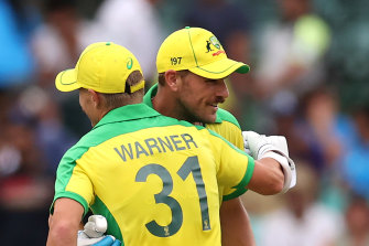 Aaron Finch is aware of the toll bubble life is having on fathers, such as David Warner.