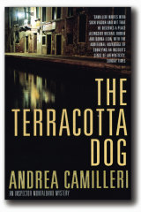Andrea Camilleri's <i>The Terracotta Dog</i>.