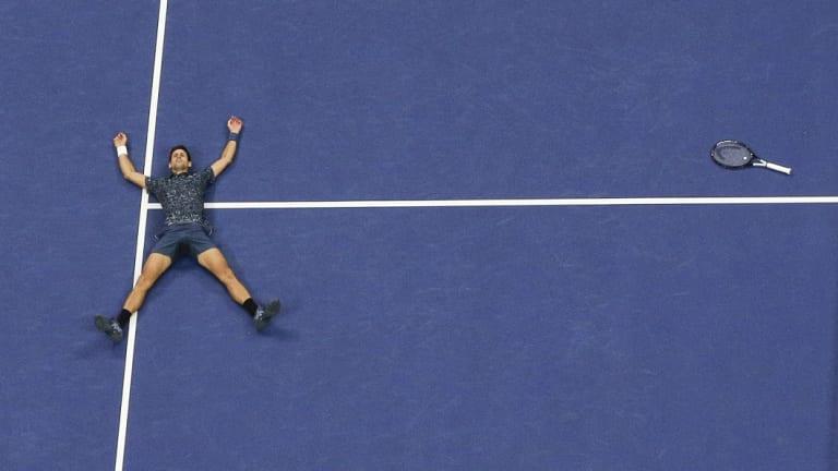 King of New York: Novak Djokovic.
