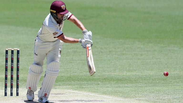 Option: Joe Burns played his last Test nine months ago but could be back in the frame should Australia's struggles with the bat continue.