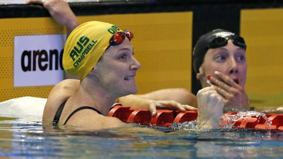 Five is alive for Cate Campbell as she continues Pan Pacs spree