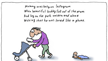 The cartoon at the centre of the controversy. Illustration: Michael Leunig
